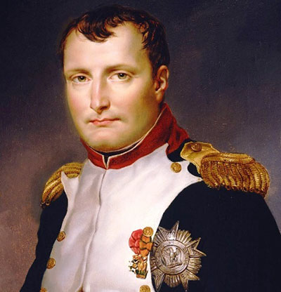 What is a good thesis for a term paper on Napoleon Bonaparte and Adolph Hitler?